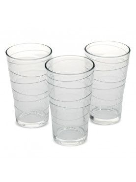 SET 6 VASOS ALTOS MODELO SLICE ALLEGRA