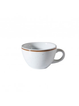 TAZA DE CAFÉ DE 110 CC ARTISAN BLANCO/BEIGE CORONA